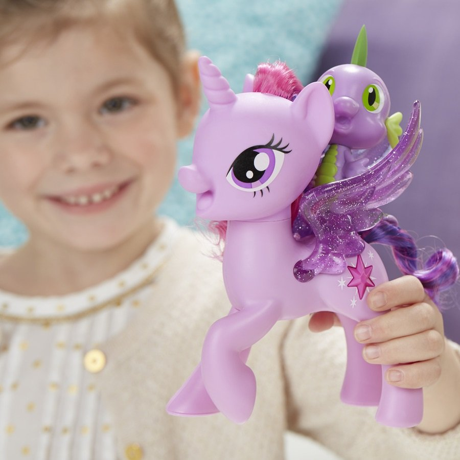 Hasbro My Little Pony Zpívající Twilight Sparkle+Spikem