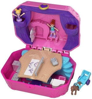 MATTEL Polly Pocket pidi svět do kapsy TINY TWIRLIN MUSIC BOX