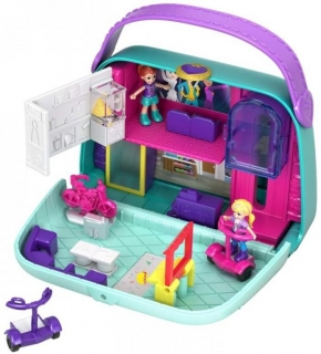 MATTEL Polly Pocket pidi svět do kapsy MINI MALL ESCAPE