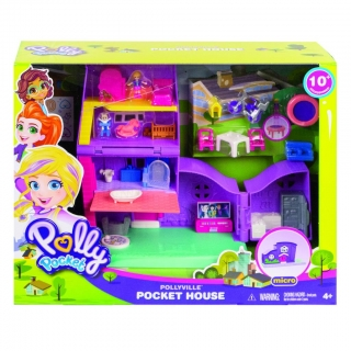 MATTEL Polly pocket domeček Polly