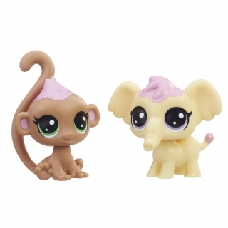 Hasbro Littlest Pet Shop FROSTING FRENZY 2ks E1071