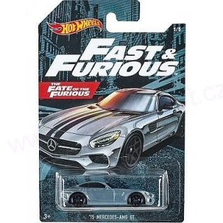 MATTEL Hot Wheels FAST AND FURIOUS - MERCEDES AMG GT 2015
