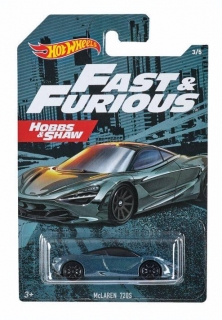 MATTEL Hot Wheels FAST AND FURIOUS - MCLAREN 720S