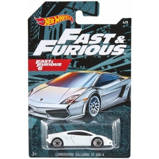 MATTEL Hot Wheels FAST AND FURIOUS - LAMBORGHINI GALLARDO LP 560-4