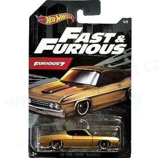 MATTEL Hot Wheels FAST AND FURIOUS - FORD TORINO TALLADEGA 1963