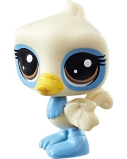 Hasbro Littlest Pet Shop AZUROVÝ PŠTROS